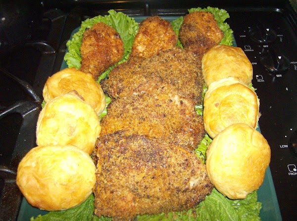 Crispy Oven Baked/fried Chicken Recipe