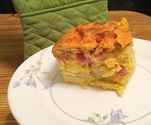 Gravy Breakfast Casserole Recipe