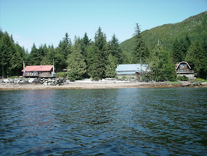 Photo: Homes line the shore along Tongass Narrows.