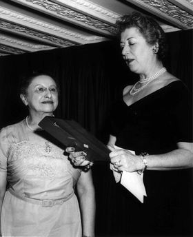 Jennie Loitman Barron (l), broke barriers as a judge, suffragist, and first mother to serve on the Boston School Committee