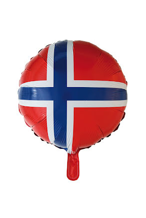 Folieballong, Norge rund