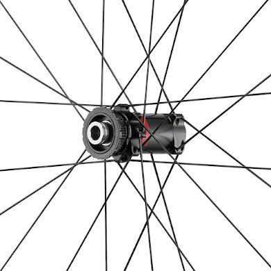 Fulcrum Rapid Red 5 DB Wheelset - 700, 12/15x100/142mm, HG 11, Center-Lock,Black, 2-Way Fit alternate image 5
