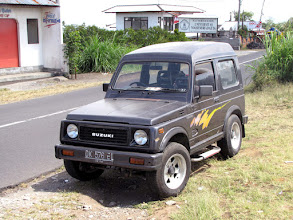 Photo: Bali - our rented car