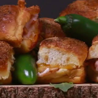 The Ideal Spicy Snack? Jalapeno Popper Baked Turkey Sandwiches!.
