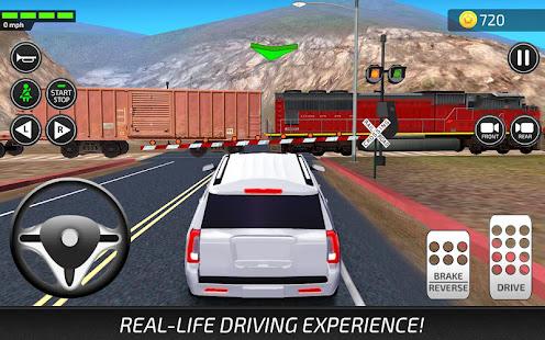 driving academy car school driver simulator 2019 apps. Black Bedroom Furniture Sets. Home Design Ideas