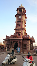 Photo: the clock tower, jodhpur