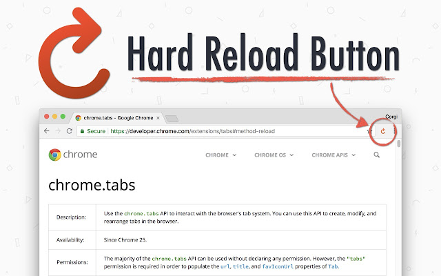 Hard Reload Button