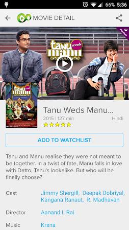 Eros Now: Watch Hindi Movies 3.1.8 screenshot 206307