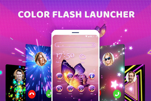 Color Flash Launcher - Call Screen, Themes 1.0.17 screenshots 1