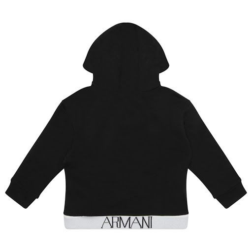Thumbnail images of Emporio Armani Boys Hooded Sweatop