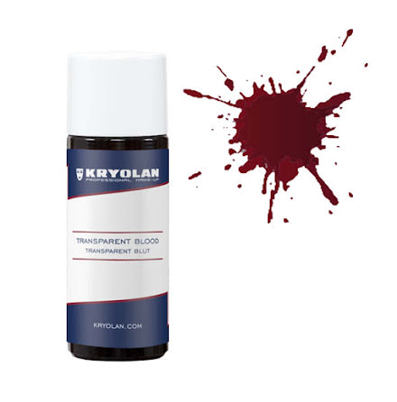 Blod, transparent 50 ml mörk