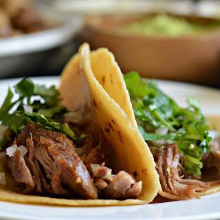 Slow Cooker Pork Carnitas Tacos