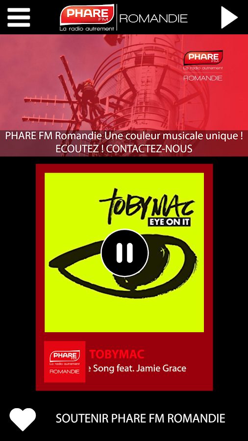 Phare Fm Romandie- screenshot