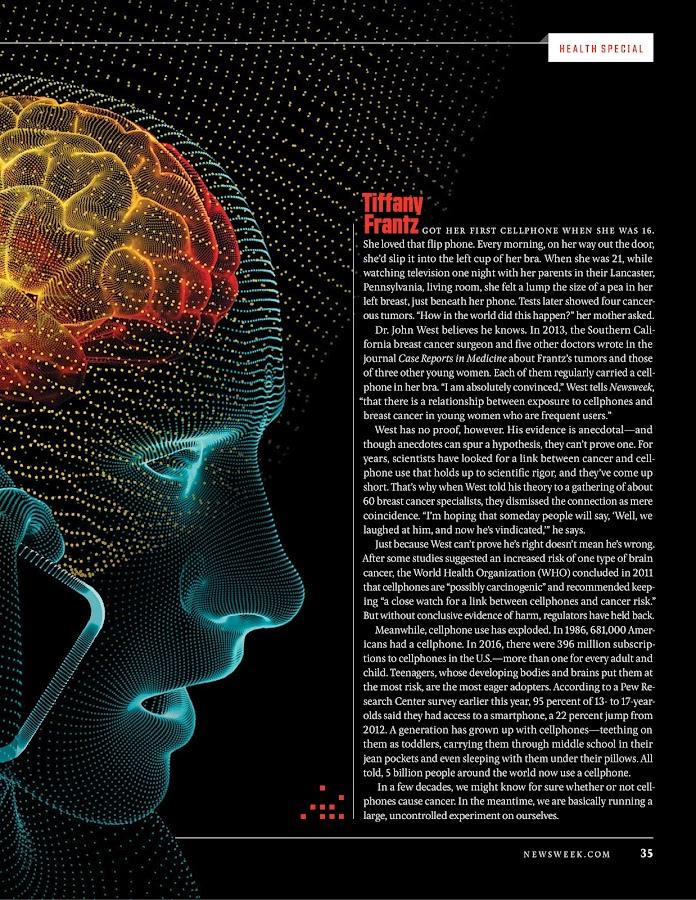 Newsweek: captura de pantalla