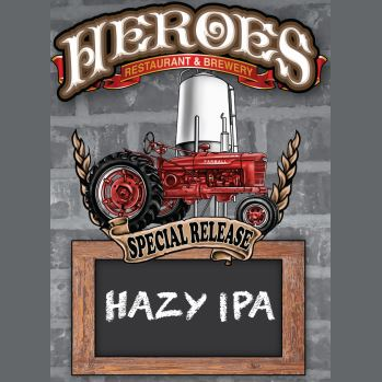Logo of Heroes Hazy IPA