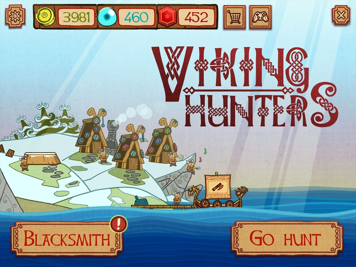 Viking Hunters- screenshot