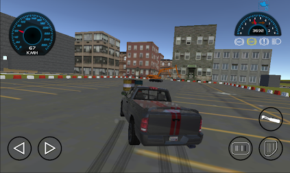 Dodge Ram Car Drift Simulator APK screenshot thumbnail 3