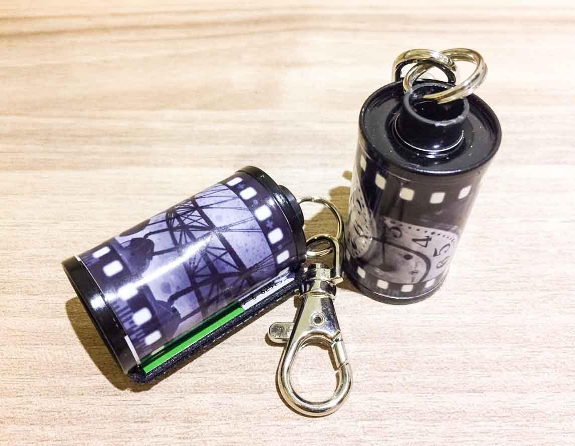 [迷迷選物]寫真館Gelatin攝影作品底片桶鑰匙圈