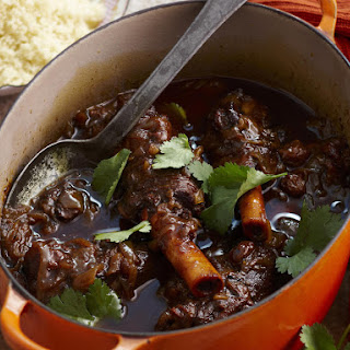 Lamb Shank Tagine with Honey and Raisins