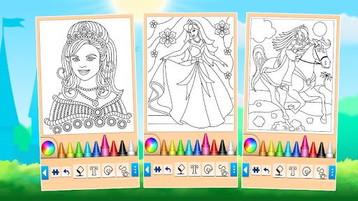 Princess Coloring Game screenshots 5
