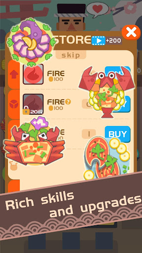 SushiMaster-defense,cookie,restruant,match,puzzle - screenshot