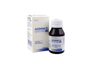 Solo Online Acidrine D Jbe 5mg-10mg   Frasco x 60 Ml