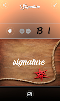Screenshot of Signature Composer