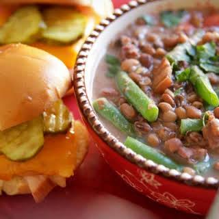 Field Peas & Snap Beans.