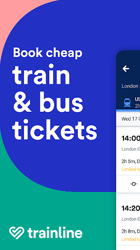 Trainline - Buy cheap European train & bus tickets Apk 1