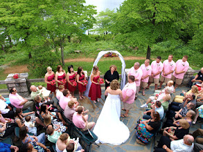 Photo: Table Rock Mountain Lodge - Picens, SC  - Wedding Officiant, Marriage Minister, Notary, Justice Peace - Brenda Owen - http://www.WeddingWoman.net