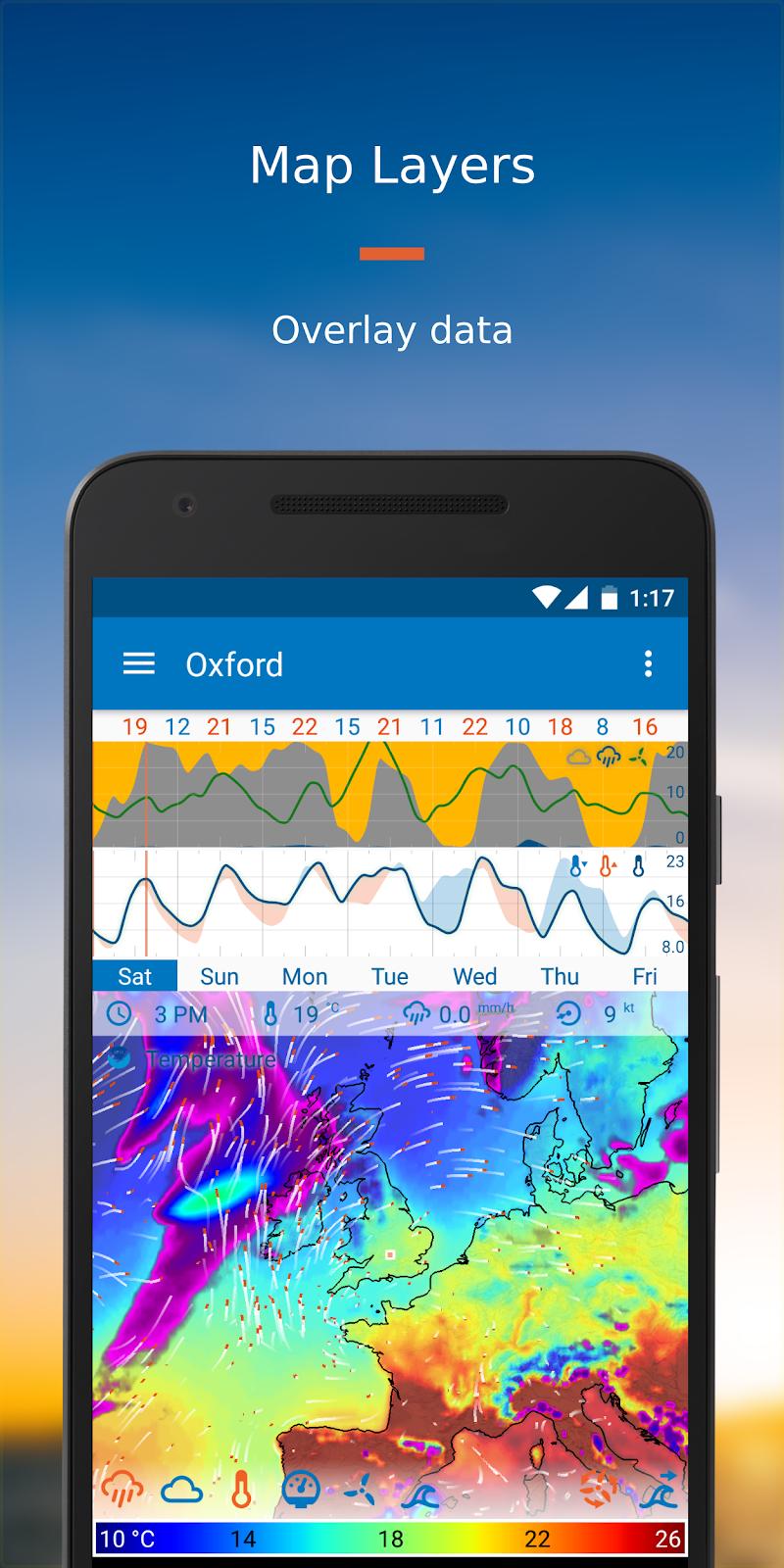 Flowx: Weather Map Forecast Screenshot 3