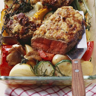Gourmet Beef with Roast Veg.
