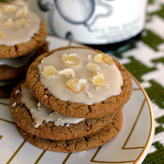 A Dark 'n Stormy Night, A Recipe For Ginger Molasses Cookies with Rum Glaze