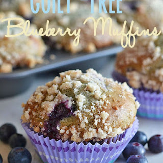 Guilt-Free Blueberry Muffins.