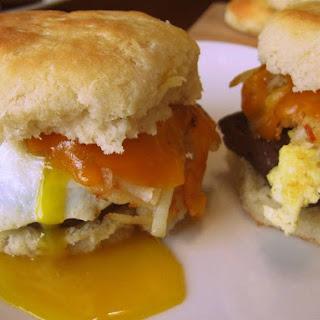 Venison Breakfast Biscuits.
