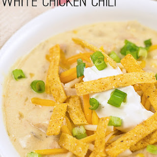 White Chicken Chili With Cream Of Chicken Soup Recipes