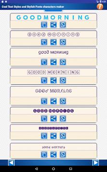 Cool fancy text generator - stylish text fonts apk
