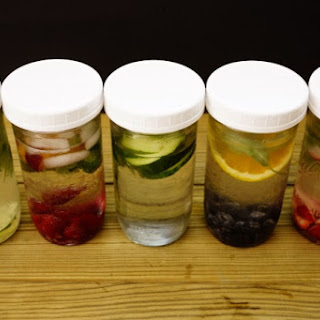 Healthy Drinks – Flavored Water.