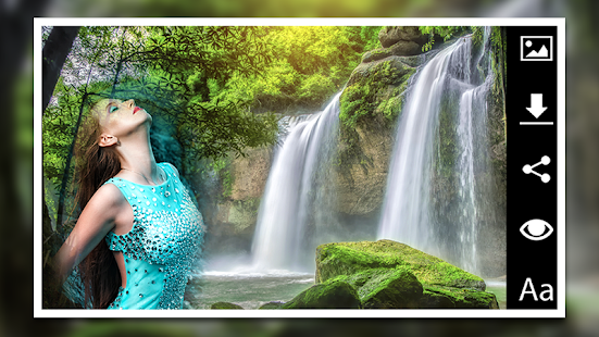 Waterfalls Photo Frames Master - náhled