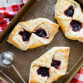 Easy Cherry Cream Cheese Danish