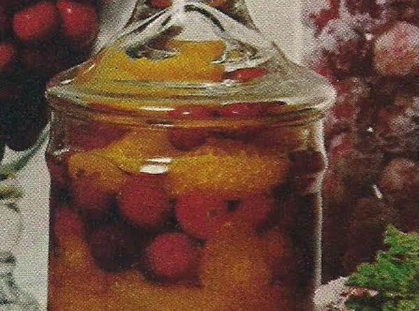 Cranberry Liqueur Sauce