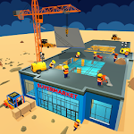 Supermarket New Building Game Icon