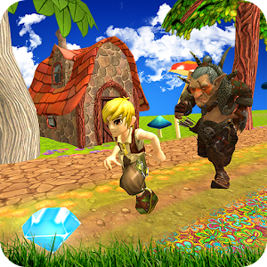 Temple Jungle running game for PC and MAC