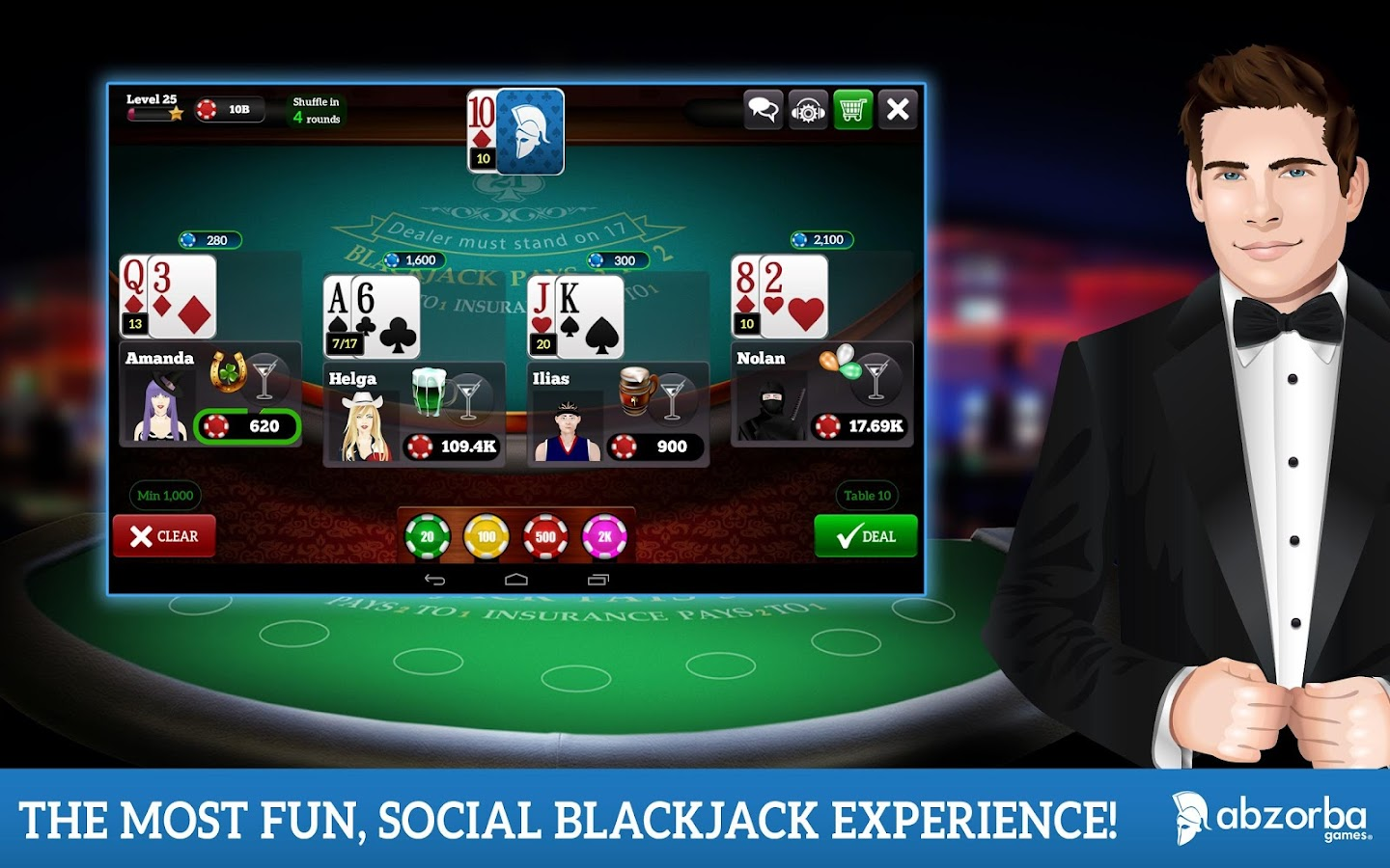 BlackJack 21 - screenshot