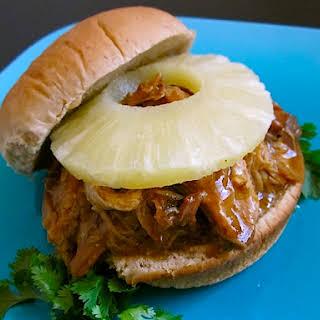 Teriyaki Pork Sandwiches.