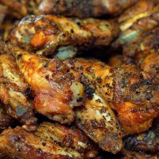 Lemon Pepper Hot Wings.