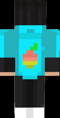 un simple chico con sudadera de mango