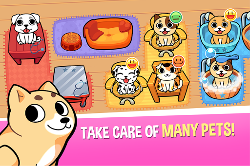My Virtual Pet Shop - Cute Animal Care Game  screenshots 1