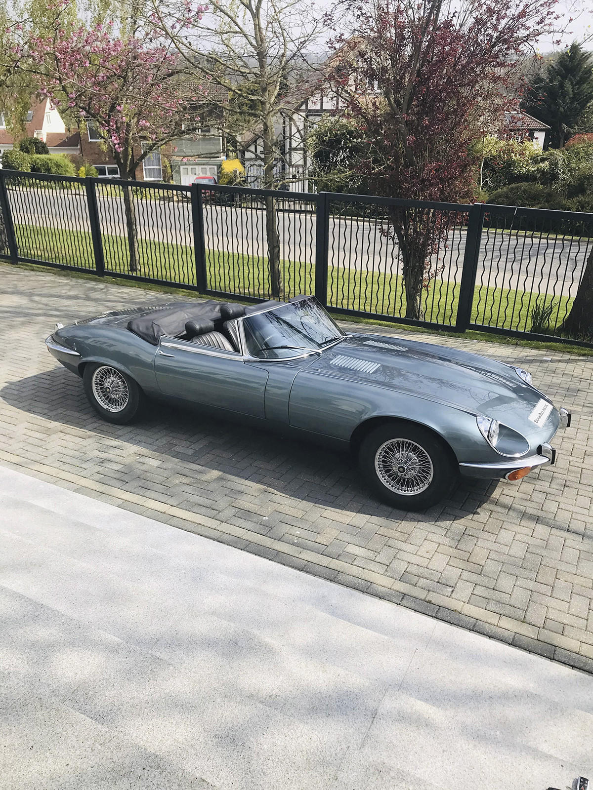 Jaguar E Type V12 Convertible Hire Cuffley, Herts