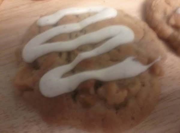 Apple Pie Cookies With Brown Butter Icing.